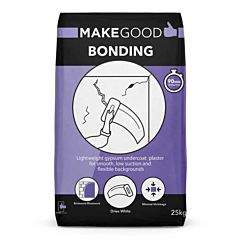 Make Good Bonding. A high-quality, gypsum based material for filling, patching and chasing in large and small areas.